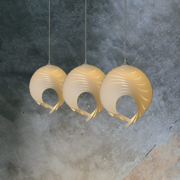 Small pendant lamps mouflon horns – Mini Muflo